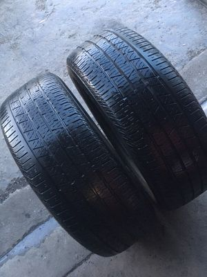 Continental 235-60-18 pair 65-70% for Sale in San Diego, CA