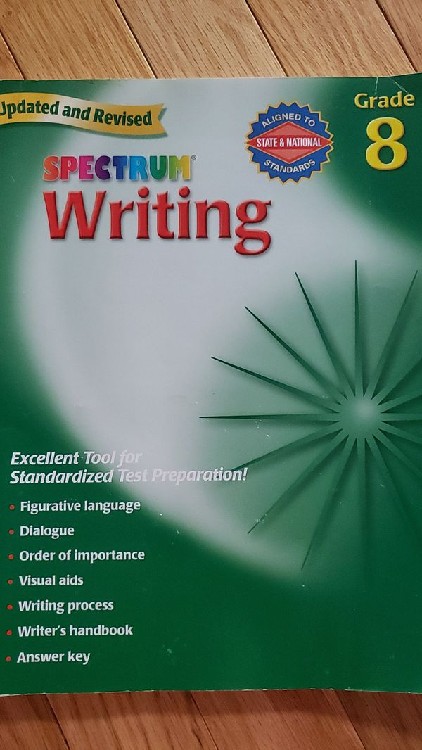 Grade 8 Spectrum Writing