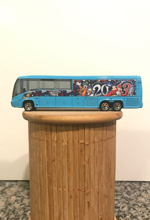 RARE collectible Matchbox Disney Parks 2013 transportation bus die cast toy bus believe in magic for Sale in Denver, CO