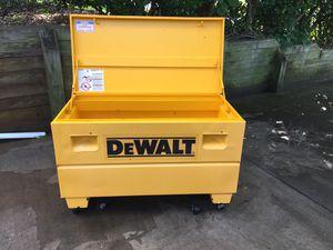 Dewalt jobsite toil box for Sale in Charlotte, NC