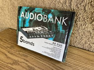 Audiobank equalizer for Sale in Modesto, CA