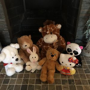 Lot Of 7 Assorted Stuffed Animals for Sale in Warwick, NY