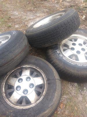 15 inch alloy hubcentric rims for Sale in Navarre, FL