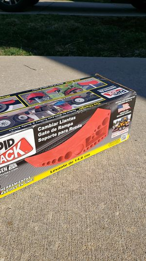 Rapid Jack trailer tire drive-on jack for Sale in O'Fallon, MO