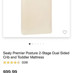 Infant & Toddler Bed Mattress for Sale in San Diego, CA