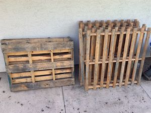 Free Wood Pallets for Sale in Poway, CA