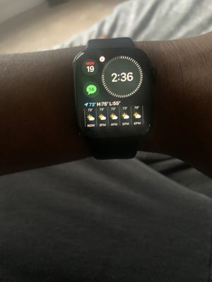 Apple Watch Series 4 Stainless steel 44mm Cellular for Sale in Chester, VA