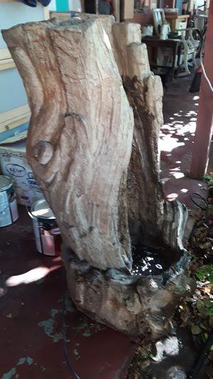 Water fountain tree trunk design 3 feet tall for Sale in Phoenix, AZ