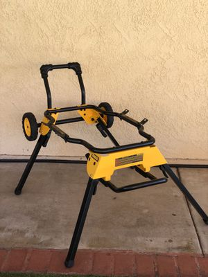 DEWALT Rolling Table Saw Stand - Like New Open Box for Sale in Fontana, CA