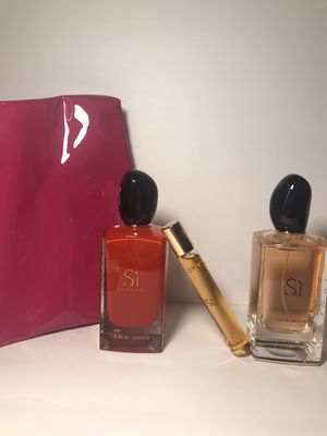 2 Si by Armani perfumes Large bottles bundle for Sale in Phoenix, AZ
