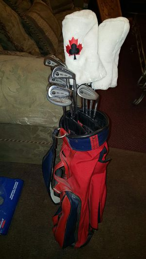 Golf Clubs Stan Thompson with bag for Sale in Columbus, OH