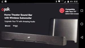 Polk Audio Wireless Sound System for Sale in Parlier, CA