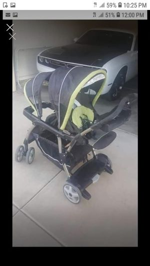 Double stroller graco sit an stand for Sale in Phoenix, AZ