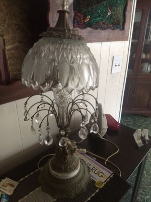 Two antique crystal lamps for Sale in San Diego, CA