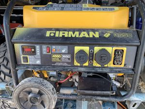Firman p03603 generator for Sale in Buckeye, AZ