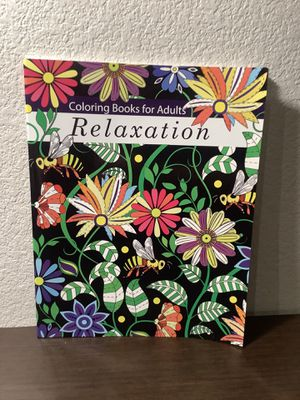 Coloring Books for Adults Relaxation: Adult Coloring Books: Flowers, Animals and Garden Designs Paperback for Sale in Sacramento, CA