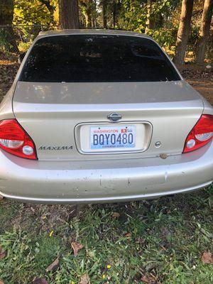 2001 Maxima sedan for Sale in Tacoma, WA