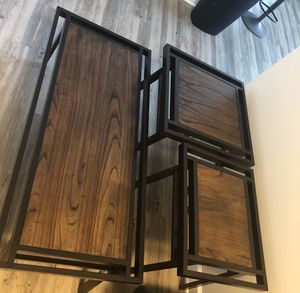 3 piece coffee table and end tables for Sale in Nashville, TN