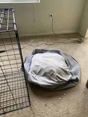 Dog kennel with bed for Sale in Durham, NC