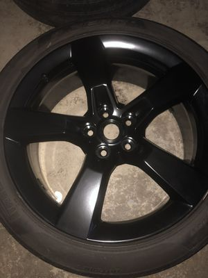 "20"" powder coated rims (satin black) for Sale in Volo, IL"