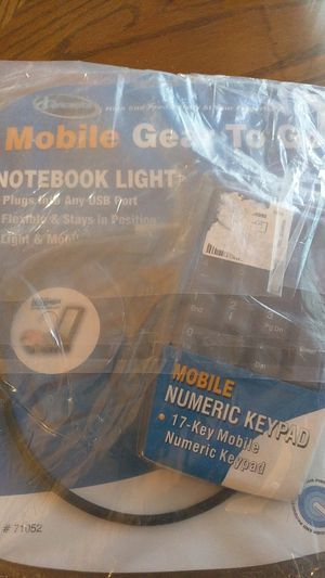 iConcepts 71052 Notebook Light and Numeric Keypad for Sale in Brisbane, CA