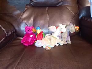 **Rare Original Beanie Babies with Tag Errors** for Sale in Creedmoor, NC