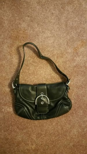 Authentic Leather Coach Purse for Sale in Crofton, MD