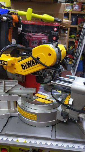 DeWalt dws780 miter saw sliding for Sale in Dallas, TX