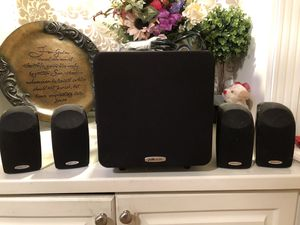 Polk audio home theater system for Sale in Alpharetta, GA