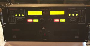 GLI PRO DC-4000 RACK TWIN CD PLAYER for Sale in Lake City, PA