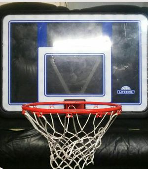 lifetime basketball hoop (adjustable) for Sale in West Valley City, UT