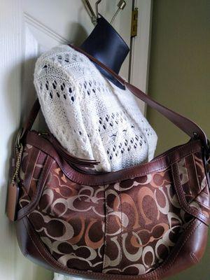 Small Coach logo shoulder bag for Sale in Lakeland, FL