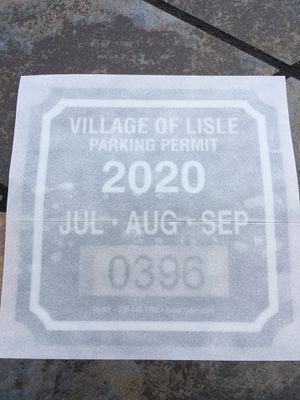 Parking permit lisle for Sale in Naperville, IL