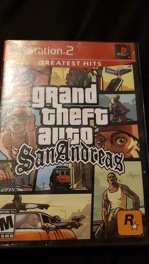 Gta San Andres For Ps2 for Sale in Irving, TX