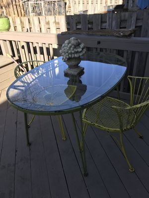 Wrought Iron Table and chairs for Sale in Frederick, MD