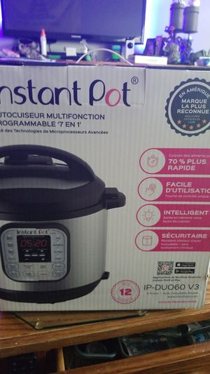 Instant pot for Sale in Lapeer, MI