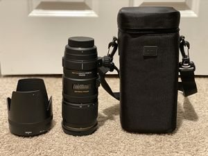 Sigma 70-200mm f/2.8 APO EX DG HSM OS FLD Telephoto Zoom Lens for Nikon DSLR Camera for Sale in Bothell, WA
