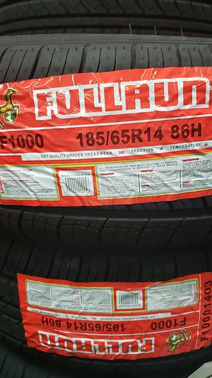 Fullrun 185/65r14 for Sale in Baldwin Park, CA