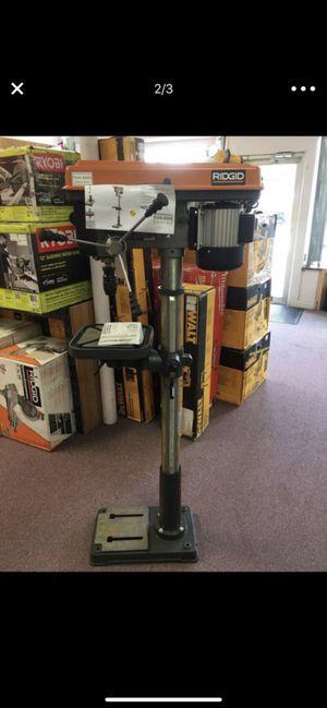 New Ridgid Drill Press Model R1500 for Sale in Newton, MA