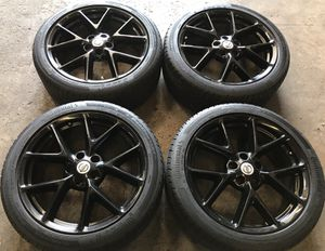 """Nissan 19"""" Maxima Black G35 G37 Factory OEM Wheels Rims Tires 19 inch for Sale in Chicago, IL"""