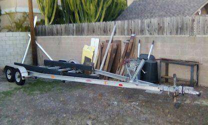 Trail-Rite Aluminum Boat Trailer 23' for Sale in Rolling Hills Estates,  CA