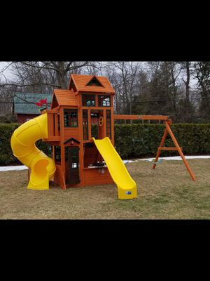 Swing set! Delivery and installation, NEW for Sale in Rancho Dominguez, CA