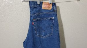 Levi's 569 Men Loose Straight Medium Blue Wash Jeans 33x28. Very good. for Sale in Frisco, TX