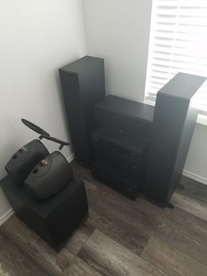 Klipsch speakers with Denon and Yamaha receivers for Sale in Corinth, TX