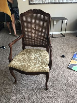 Antique real wood chair for Sale in Dallas, TX