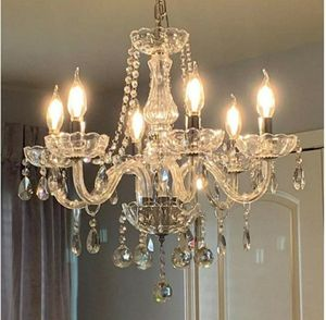 NEW Candle Chandeliers 6 Lights Classic Vintage Crystal Lighting Pendant Ceiling Fixture Lamp Room for Sale in Brooklyn, NY