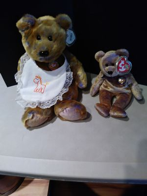 Two Ty Beanie Babies Bears for Sale in Rancho Cucamonga, CA