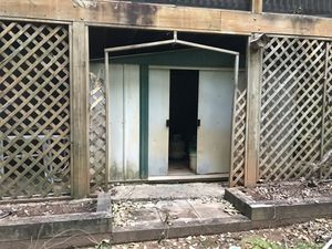 Free metal shed - pickup only for Sale in Cumming, GA