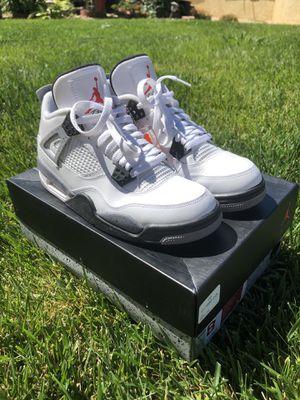 "Jordan 4 retro ""White Cement"" for Sale in Elk Grove, CA"