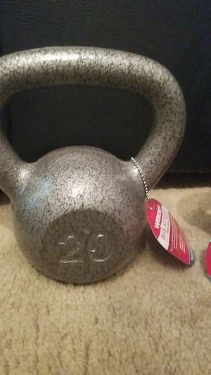 Weider 20lb kettlebell for Sale in Richardson, TX